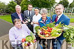 Pictured at the launch of Tralee Food Fair which takes place from the 23 -25th September, from left: Terry O'Brien Mayor, Kierian Ruttledge, Tralee Chamber Alliance, David Scitt, Tralee Chamber Alliance,Patricia McCarthy, Chef, Sylvia Thompson, Transition Kerry and John Drummey, Tralee Chamber Alliance.