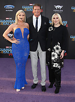 19 April 2017 - Hollywood, California - Hayley Hasselhoff, David Hasselhoff, Taylor Ann Hasselhoff. Premiere Of Disney And Marvel's &quot;Guardians Of The Galaxy Vol. 2&quot; held at the Dolby Theatre. <br /> CAP/ADM<br /> &copy;ADM/Capital Pictures