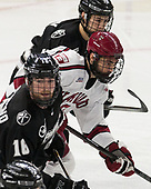 Anthony Florentino (PC - 16), Luke Esposito (Harvard - 9), Jacob Bryson (PC - 18) - The Harvard University Crimson defeated the Providence College Friars 3-0 in their NCAA East regional semi-final on Friday, March 24, 2017, at Dunkin' Donuts Center in Providence, Rhode Island.