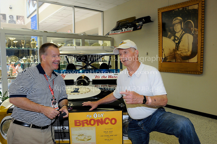 Steve Shunk and Parnelli Jones tell tall tales.