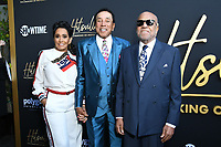 "08 August 2019 - Los Angeles, California - Smokey Robinson, Berry Gordy. Showtime's ""Hitsville: The Making Of Motown"" Los Angeles Premiere held at Harmony Gold.    <br /> CAP/ADM/BT<br /> ©BT/ADM/Capital Pictures"