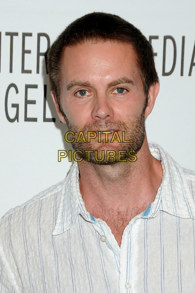 "GARRETT DILLAHUNT.28th Annual Paley Center for Media's Paley Fest 2011 Presents ""Raising Hope"" held at The Saban Theatre, Beverly Hills, California, USA..March 17th, 2011.headshot portrait white stripe stubble beard facial hair   .CAP/ADM/BP.©Byron Purvis/AdMedia/Capital Pictures."
