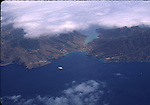 Santa Catalina Island, aerial photo of Isthmus
