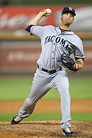 Baldwin, Andy 4098.jpg.  PCL baseball featuring the Tacoma Rainers at Round Rock Express at Dell Diamond on August 5th 2009 in Round Rock, Texas. Photo by Andrew Woolley.