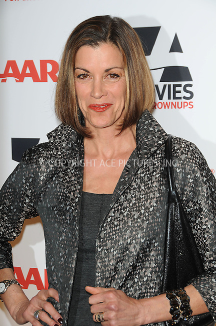 WWW.ACEPIXS.COM . . . . . ....February 7 2011, LA....Actress Wendie Malick arriving at the AARP Magazine 10th Annual Movies For Grownups Awards at the Beverly Wilshire Four Seasons Hotel on February 7, 2011 in Beverly Hills, CA....Please byline: PETER WEST - ACEPIXS.COM....Ace Pictures, Inc:  ..(212) 243-8787 or (646) 679 0430..e-mail: picturedesk@acepixs.com..web: http://www.acepixs.com