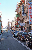 San Francisco:  Chinatown--Grant St. Grant is the north-south spine of Chinatown.  Photo '89.