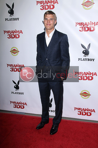 Chris Zylka<br /> at the &quot;Piranha 3DD&quot; Los Angeles Premiere, Chinese 6, Hollywood, CA 05-29-12<br /> David Edwards/DailyCeleb.com 818-249-4998