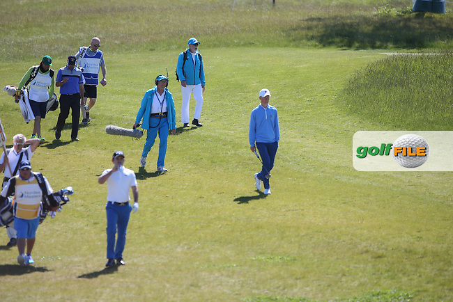 Martin Kaymer (GER) heading down to the 6th during Round Two of the 2015 Nordea Masters at the PGA Sweden National, Bara, Malmo, Sweden. 05/06/2015. Picture David Lloyd | www.golffile.ie