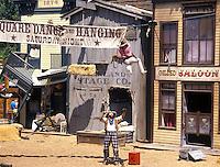 Wild West show at Disneyland in Anaheim California