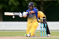 Hamish Rutherford bats during the Wellington Firebirds v Otago Volts, Ford Trophy One Day match round five at Bert Sutcliffe Oval in Lincoln, New Zealand on Friday, 29 November 2019. Photo: Martin Hunter / lintottphoto.co.nz