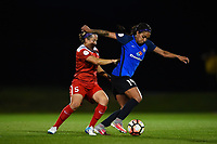 Boyds, MD - Saturday May 20, 2017: Whitney Church, Sydney Leroux during a regular season National Women's Soccer League (NWSL) match between the Washington Spirit and FC Kansas City at Maureen Hendricks Field, Maryland SoccerPlex.