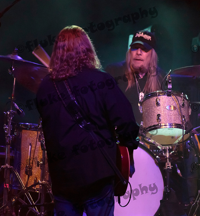Matt Abts with Gov't Mule at Fort Tuthill County Park, Flagstaff, AZ on July 10, 2015.