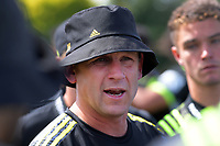 Hurricanes assistant coach Jason Holland during the Super Rugby preseason match between the Hurricanes and Crusaders at Levin Domain in Levin, New Zealand on Saturday, 2 February 2019. Photo: Dave Lintott / lintottphoto.co.nz
