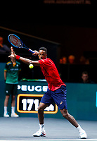 Rotterdam, The Netherlands, 9 Februari 2020, ABNAMRO World Tennis Tournament, Ahoy, Gaël Monfils (FRA).<br /> Photo: www.tennisimages.com