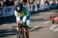 Jan Tratnik (SVK)<br /> <br /> MEN ELITE INDIVIDUAL TIME TRIAL<br /> Hall-Wattens to Innsbruck: 52.5 km<br /> <br /> UCI 2018 Road World Championships<br /> Innsbruck - Tirol / Austria