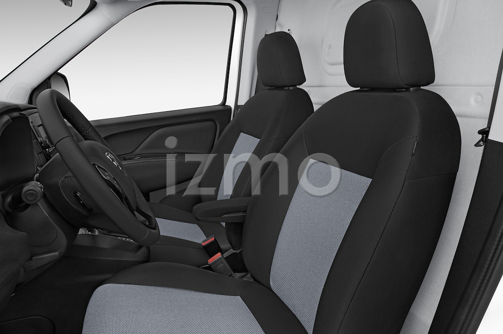 Front seat view of a 2015 Ram Promaster City Trademans 4 Door Cargo Van front seat car photos