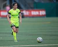 Seattle, WA - Saturday July 23, 2016: Kendall Fletcher during a regular season National Women's Soccer League (NWSL) match between the Seattle Reign FC and the Orlando Pride at Memorial Stadium.