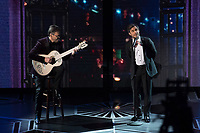 Gael Garc&iacute;a Bernal performs during the live ABC Telecast of the 90th Oscars&reg; at the Dolby&reg; Theatre in Hollywood, CA on Sunday, March 4, 2018.<br /> *Editorial Use Only*<br /> CAP/PLF/AMPAS<br /> Supplied by Capital Pictures