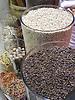 cloves, white pepper and other spices displayed in big glasses in the Especies Crespi shop in Palma de Majorca<br /> <br /> clavos, piemiento blanco y otras especias presented en vidrios grandes en la tienda Especies Crespi en Palma de Mallorca<br /> <br /> Gew&uuml;rznelken, wei&szlig;er Pfeffer und andere Gew&uuml;rze in Gl&auml;sern dekoriert im Schaufenster des Gew&uuml;rzladens Especies Crespi in Palma de Mallorca<br /> <br /> 2481 x 1860 px<br /> 150 dpi 42 x 31,50 cm<br /> 300 dpi 21 x 15,75 cm