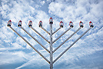 Outdoor Menorah on Boston Common, Boston, MA