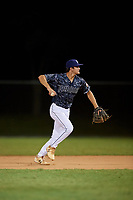 Connor Walsh during the WWBA World Championship at the Roger Dean Complex on October 19, 2018 in Jupiter, Florida.  Connor Walsh is a shortstop from Niceville, Florida who attends Niceville Senior High School and is committed to Mississippi.  (Mike Janes/Four Seam Images)