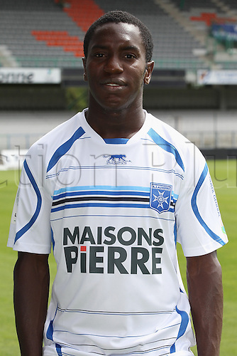01.08.2013. Auxerre, France. Official Club photoshoot portait for season 2013-14.  (Auxerre)  Henri N Dong