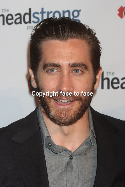"""Jake Gyllenhaal attends The Headstrong Project's """"Words Of War"""" event at IAC HQ in New York, 08.05.2013. Credit: Rolf Mueller/face to face"""