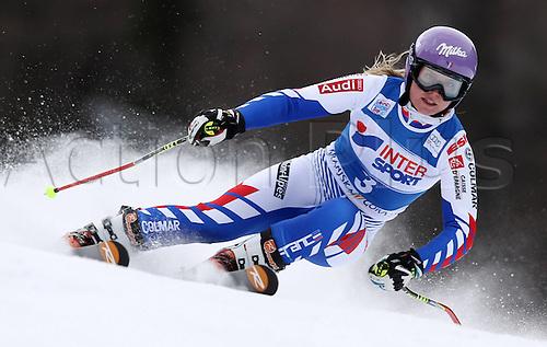 21.01.2012. Ski Alpine FIS WC Kranjska Gora RTL women  Ski Alpine FIS World Cup Giant slalom for women Picture shows Tessa Worley FRA