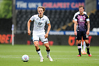 George Byers of Swansea City in action during the Sky Bet Championship match between Swansea City and Luton Town at the Liberty Stadium in Swansea, Wales, UK. Saturday 27 June 2020.