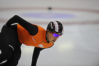 SCHAATSEN: HEERENVEEN: 31-01-2014,  IJsstadion Thialf, Training Topsport, Freek van der Wart, ©foto Martin de Jong
