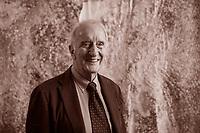 Gian Luigi Beccaria, italian writer. Gian Luigi Beccaria (Niella Tanaro, 27 gennaio 1936) è un linguista, critico letterario, accademico e personaggio televisivo italiano. Alba 19 ottobre 2018. ©Leonardo Cendamo