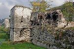 Istanbul, Turkey, Theodosian wall, Ancient city walls, Yedikule Distirct,