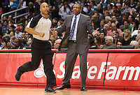 12/27/12 Los Angeles, CA: Boston Celtics head coach Doc Rivers during an NBA game between the Los Angeles Clippers and the Boston Celtics played at Staples Center. The Clippers defeated the Celtics 106-77 for their 15th straight win.