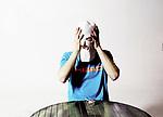 "Kiryl, 20 ans pose avec une cagoule lors d'une party techno entre amis dans une sorte de squat qu'ils ont amenager pour se retrouver le week end avant de partir en ""rave""///////. Kiryl, 20, poses with a balaclava during a techno party with friends in a kind of squat they have to develop to meet up the weekend before going on a ""rave"""