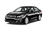 2015 Subaru Impreza 2.0I Premium Auto 4 Door Sedan Angular Front stock photos of front three quarter view