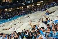 PORTO ALEGRE, RS, 02.11.2016 - GRÊMIO- CRUZEIRO - Torcedores, do Grêmio, durante partida contra o Cruzeiro, válida pela semifinais da Copa do Brasil 2016, na Arena do Grêmio, nesta quarta-feira. (Foto: Rodrigo Ziebell/Brazil Photo Press)