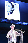 Zoe Caldwell.during the 2001 Theatre World Awards Presentation at the August Wilson Theatre in New York City.