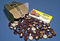 Alimentos doces. Chocolate. Foto de Manuel Lourenço.