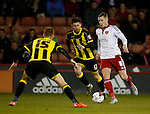 Paul Coutts of Sheffield Utd surges forward - English League One - Sheffield Utd vs Burton Albion - Bramall Lane Stadium - Sheffield - England - 1st March 2016 - Pic Simon Bellis/Sportimage