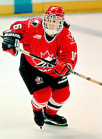 Jana Hefford Team Canada 1997. Photo copyright F. Scott Grant