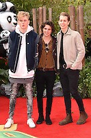The Vamps<br /> arriving for the &quot;Kung Fu Panda 3&quot; European premiere at the Odeon Leicester Square, London<br /> <br /> <br /> &copy;Ash Knotek  D3093 06/03/2016