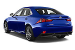 Car pictures of rear three quarter view of a 2015 Lexus IS F SPORT LINE 4 Door Sedan Angular Rear