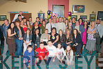 BIG SURPRISE: Mary Whealan, Connelly Park, Tralee (seated centre) got a big surprise when a large group of family and friends gathered to celebrate her 40th birthday at Austin Stacks clubhouse on Saturday..
