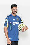 Angel Lafita poses during official La Liga 2015-16 photo session in Madrid, Spain. July 24, 2015. (ALTERPHOTOS/Victor Blanco)