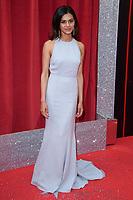 Lisa Ambalavanar<br /> arriving for the British Soap Awards 2018 at the Hackney Empire, London<br /> <br /> ©Ash Knotek  D3405  02/06/2018
