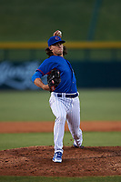 AZL Cubs 2 relief pitcher Bryan King (74) during an Arizona League game against the AZL Dbacks on June 25, 2019 at Sloan Park in Mesa, Arizona. AZL Cubs 2 defeated the AZL Dbacks 4-0. (Zachary Lucy/Four Seam Images)