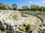 Roman Arena, Archaeological Park, Siracusa, Sicily