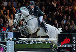 Michael Whitaker of United Kingdom riding Valentin R in action at the Gucci Gold Cup during the Longines Hong Kong Masters 2015 at the AsiaWorld Expo on 14 February 2015 in Hong Kong, China. Photo by Xaume Olleros / Power Sport Images