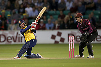 Adam Wheater hits 6 runs for  Essex during Essex Eagles vs Somerset, Vitality Blast T20 Cricket at The Cloudfm County Ground on 7th August 2019