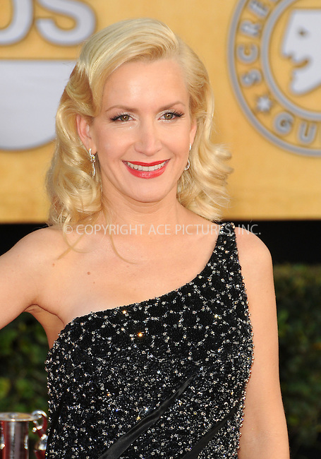 WWW.ACEPIXS.COM . . . . . ....January 30 2011, Los Angeles....Actress Angela Kinsey arriving at the 17th Annual Screen Actors Guild Awards held at The Shrine Auditorium on January 30, 2011 in Los Angeles, CA....Please byline: PETER WEST - ACEPIXS.COM....Ace Pictures, Inc:  ..(212) 243-8787 or (646) 679 0430..e-mail: picturedesk@acepixs.com..web: http://www.acepixs.com